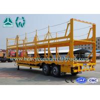 Buy cheap Light Weight Car Carrier Semi Trailer Hydraulic Lifting Vehicle Hauling Trailers product