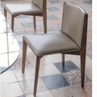 Quality Cuoietto Leather Porada Ionis Chair , Armrest Restaurant Dining Chairs for sale