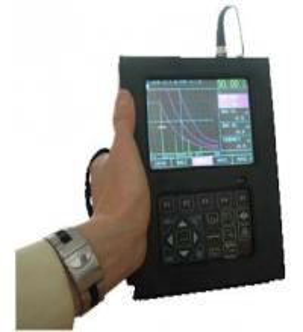 Buy cheap SADT BNC Port SUD10 Digital Ultrasonic Flaw Detector 0.5MHz ~ 20MHz 40dB Resolution product