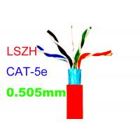 Buy cheap Cat5E FTP Copper Lan Cable Common Computer 24AWG Indoor LSZH Network Shiled product
