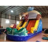Buy cheap Forest Elephant Animals Commercial Inflatable Water Slides Standard For Kids Under 15 product