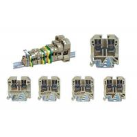Buy cheap Plug In Combined Rail Mounted Terminal Blocks , Quick Connect Terminal Block SAK/JXB product