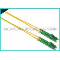 Buy cheap Simplex ST To LC Fiber Patch Cable Singlemode 900 Micron Tight Buffered product