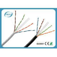 Buy cheap Ethernet Wires Cat6 Lan Cable 24AWG 23AWG BC UTP 1000FT RoHS Certificated product