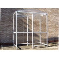 Buy cheap 38mm Aluminium Square Tube for Smoking Shelter Silver Anodization 6063 T5 product