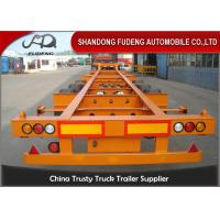 Container chassis trailer , skeleton semi trailer 2 axles 20ft and 40ft with