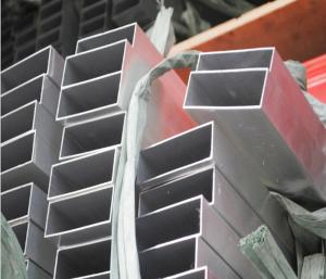 Buy cheap 100mm x 50mm Aluminum Tubing for Industrial Usage 1.2mm Wall Thickness 6063 T5 product