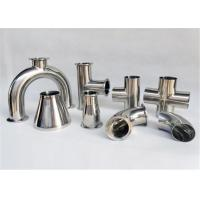 Buy cheap Kaiquan Stainless Steel Pipe Fittings Size Customized For Milk Dairy Industry product