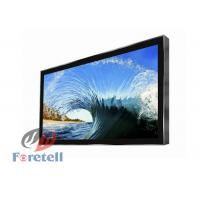 Auto Play Wall Mount Touch Screen Monitor , Digital Advertising Displays For Fast Food Restaurant