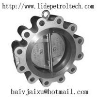 Buy cheap LUG WAFER DOUBLE DISC CHECK VALVE product