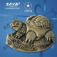 Buy cheap turtle metal souvenir fridge magnet from China product