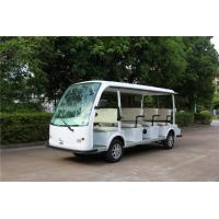 Buy cheap Fashion White 11 Person Electric Sightseeing Bus For Hotel / Real  Estate from wholesalers