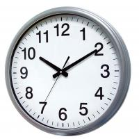 Buy cheap ET8812RF Metal wall clock with indoor & outdoor temperature product