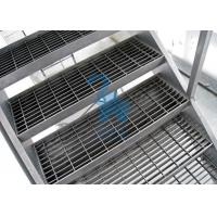 Buy cheap Galvanized Surface Metal Drain Grate Hollowed Ladder Stand 915mm Width product