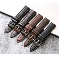 Buy cheap Adjustable Genuine Leather Watch Band Replacement Durable With 20mm Width product