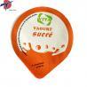 Buy cheap Food Grade Aluminium foil sealing lids for yogurt cup, yogurt cup sealing lids from wholesalers