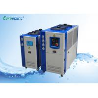 Buy cheap Double Condenser Fan Air Cooling Commercial Water Chiller 10 HP for Central Air Conditioner product