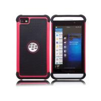 Buy cheap Mobile Case PC + Silicone Anti Impact 3 in 1 Combo Hard Case for BlackBerry Z10, 11 colors product