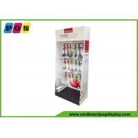 Buy cheap POP Retail Cardboard Floor Displays , Peg Board Side Wing Display For Kitchenware HD019 product