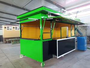 Buy cheap Four-Wheel Snack Car Mobile Food Chinese Price food van mobile food trailer hot sale round food cart for sale product