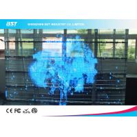 China SMD 3 In 1 10mm Transparent LED Screen Board 1R1G1B , Full Color Led Signs wholesale