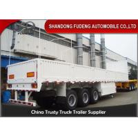 Buy cheap Tri Axle Side Wall Semi Trailer With Dropping Side Walls 1.5mm Steel Plate product