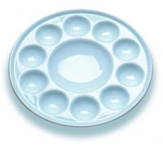 Buy cheap Набор краски искусства палитры краски 10 Велльс смешивая, круглая палитра Ватерколоур фарфора product