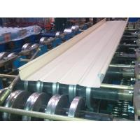 Buy cheap Guardrail Metal Roofing Roll Forming Machine 5.5Kw Hydraulic Cutting product