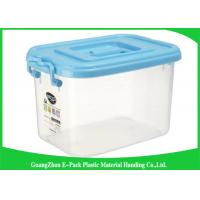 Quality Top Plastic Solid Clear Storage Boxes Space Saving With Big Capacity 560 * 380 * 320mm for sale