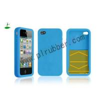 Buy cheap Blue iPhone 4 Silicon Anti Radiation Case product
