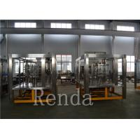 Buy cheap 9KW Bottled Water Carbonated Drink Filling Machine 10000 BPH ISO Certification product