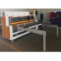 Buy cheap Automatic Corrugated Carton Machine Thin Blade Slitter Scorer Machine For Paperboard product