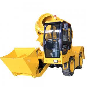 China Concrete Pump With Mixer FM2.5 Mini Truck Concrete Mixer Cement Concrete Mixer Machine on sale