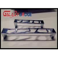 Buy cheap Chrome Hollow Kitchen Cabinet Handles And Knobs , 96mm Zinc Bedroom Closet Door Pulls from wholesalers