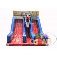 Buy cheap Super Mario Brothers Inflatable Slides Two Lane For Kids 2 Years Warranty product