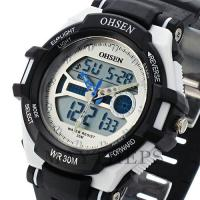 Buy cheap Ohsen Silicone Waterproof Swimming Watches Digital With Backlight product