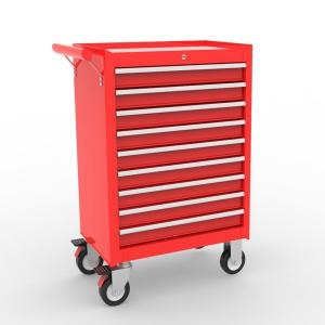 Buy cheap Powder Coated Mobile Pulling Handle 9 Drawer Top Tool Chest product