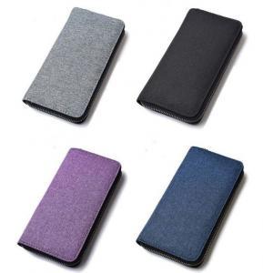 Buy cheap Stylish Promotional Nylon Wallets , Zipper Closure Minimalism Mens Wallet product