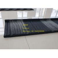 Buy cheap Wind Resistance Wood Tile Stainless Steel Corrugated Sheet Black And Wite Color product
