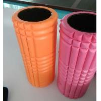 Buy cheap Hard Grid EVA Material Hollow Foam Roller / Muscle Massage Roller 33 * 14 Cm Diameter product