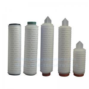 Buy cheap 0.22um Micron PTFE Vent Filter 215 222 226 Flat Membrane Cartridge Filter product