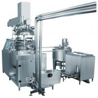 Buy cheap Three Phase Toothpaste Vacuum Pump Vacuum Emulsifying Machine With Hydraulic Lifting product