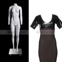 New design type full body woman ghost mannequin for display