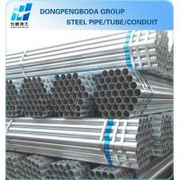 Buy cheap export g90-300 bs 1387 galvanized steel pipe plain end China supplier made in China product