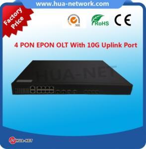 Buy cheap 低価格のコルティナのチップセットとのインドの価格BDCOM OLT 4 PONの港10G EPON/GEPONの層3 OLT product