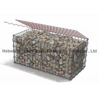 Buy cheap High Tensile Galvanized Steel Wire Welded Gabion Box Wear And Abrasion from wholesalers