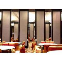 Buy cheap Top Hung Room Partition Wall , Woven Fabric Office Partition Wall Light Weight product