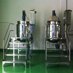 Buy cheap Máquina de mistura líquida do vácuo manualmente bonde do aquecimento com a mistura bronzeado para a loção, sabão product