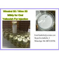 China Water Based Oral Winstrol 50 Oil Based Injection Winn 50 For Bodybuilding wholesale