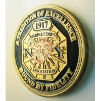 Buy cheap Professional Custom Military Challenge Coins With New York State Troopers Logo product